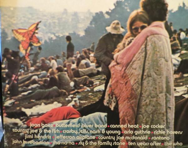 Heute Abend muss  Vinyl wieder ran. Cover der Woodstock Triple-LP. (fotos: zoom)