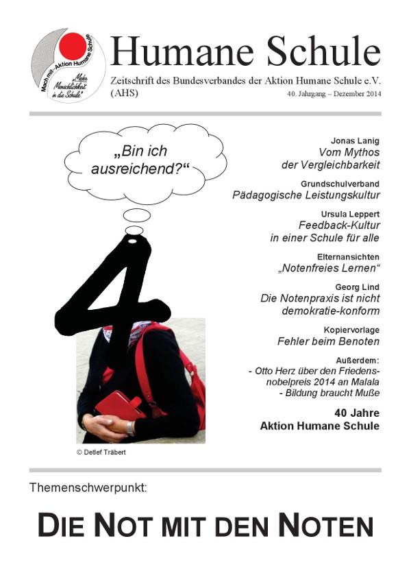 Unser Autor Detlef Träbert  fordert eine humane Schule.