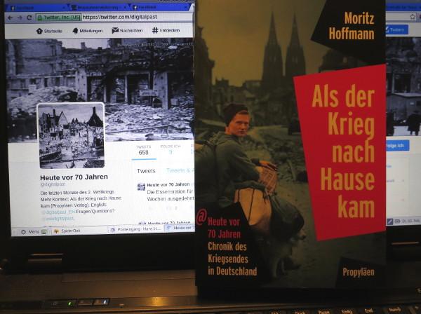Buch und Website des Twitterprojekts DigitalPast (foto: zoom)