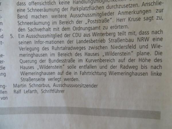 Winterberger Politiker wissen mehr ... (screenshot)