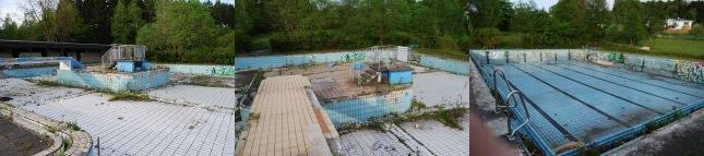 Das zerfallende Freibad in Amecke soll wiederbelebt werden. Es gibt viel zu tun(fotos: härtel)