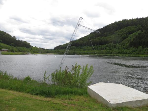 Heute Nachmittag gegen 16 Uhr lag der See ruhig und fast still. (fotos: zoom)