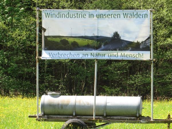 Auf der Wiese zwischen Stausee und Brunskappel. (foto: zoom)