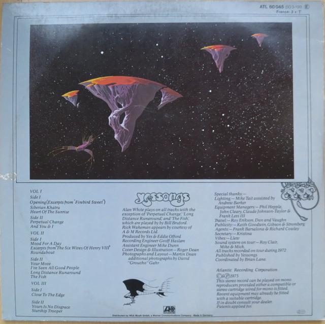 WTF, die Einschläge kommen näher. Das Triple-Album von Yes war mein erstes Album, und ich höre es immer noch. (foto: zoom)