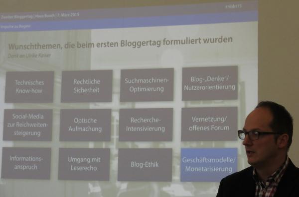 Kai Heddergott wird auch den dritten Bloggertag im Haus Busch moderieren. (foto: zoom)