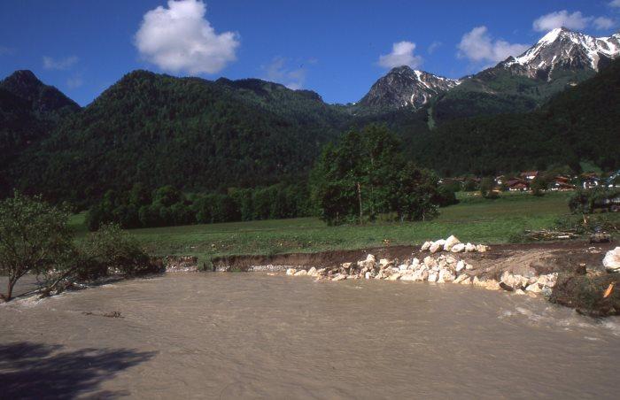 Extreme Wetterereignisse haben im Alpenraum erheblich zugenommen.