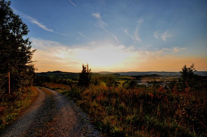 Sonnenuntergang (foto: Kevin Loer)