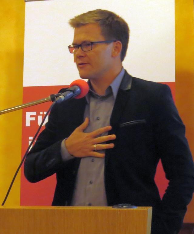 Trotz großer Kritik schlägt Carsten Schneiders Herz immer noch für Tsipras und Syriza.