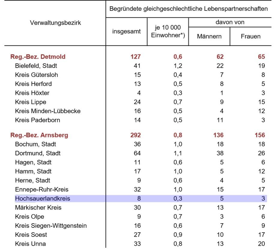 Die Daten für den HSK blau überstrichen (screenshot)