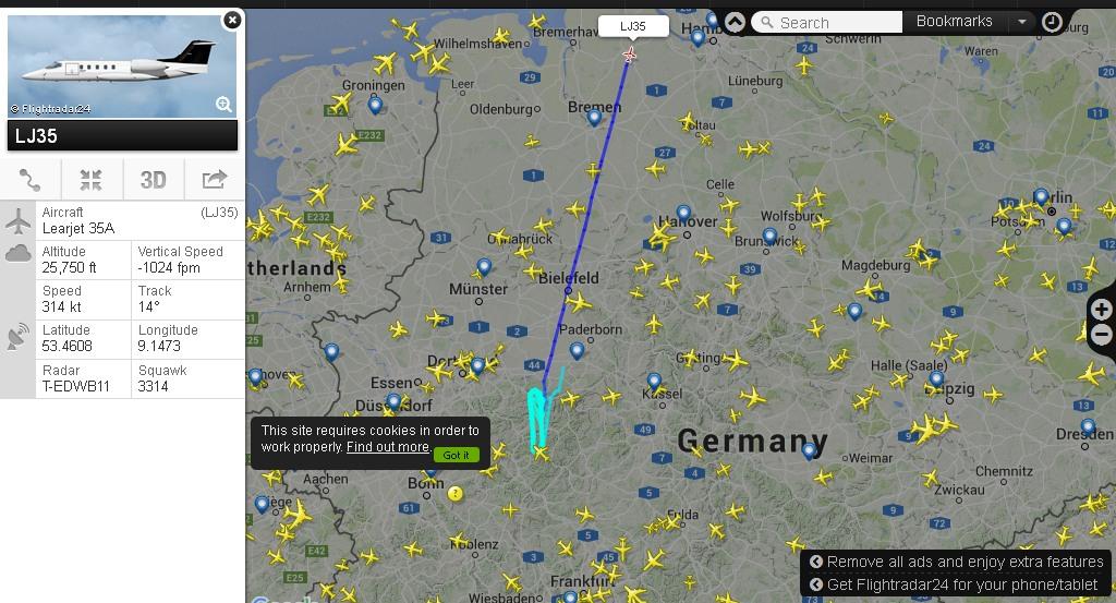 Zurück in den Fliegerhorst bei Rendsburg.