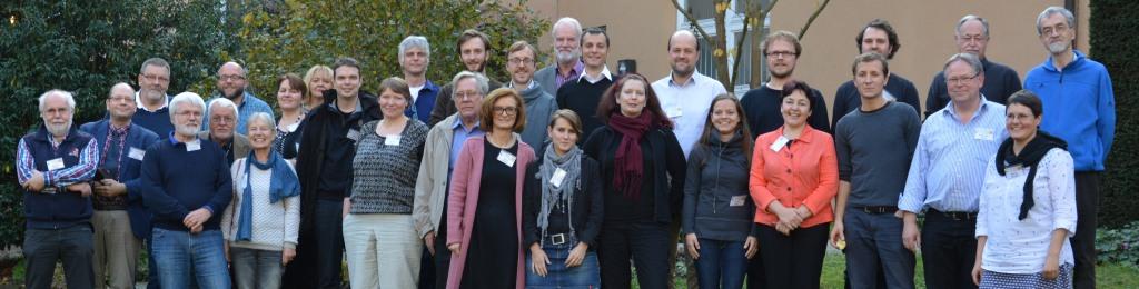 Gruppenbild beim Treffen der OER-Initiativen in Schmerlenbach am 31.10.2015. (foto: OER-Initiativen)