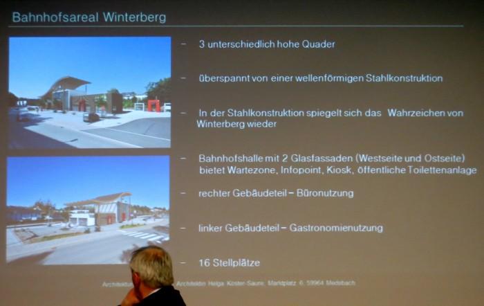 Der neue Bahnhof in Stichworten.