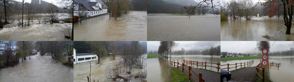 Gestern Nachmittag hat Leon Reintke die Lenne nach dem großen Regen fotografiert. (fotos: reintke)