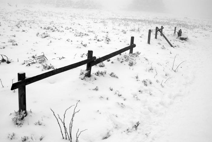 Winter auf dem Kahlen Asten heutige Nachmittag (foto: johanna huebner)