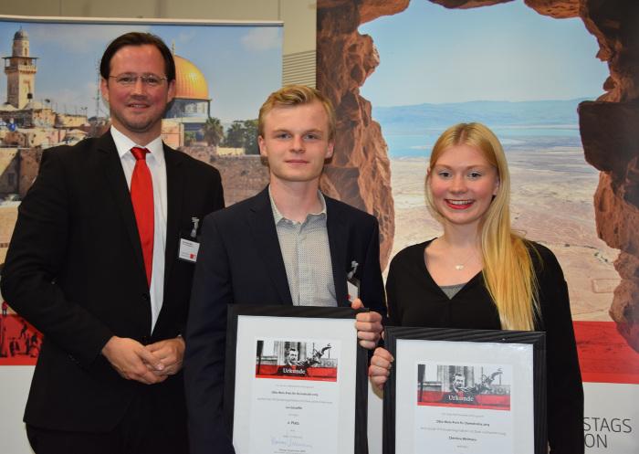2015 belegten Jan Schaeffer und Christine Weimann aus dem Hochsauerlandkreis einen der zweiten Plätze. (foto: via SPD)