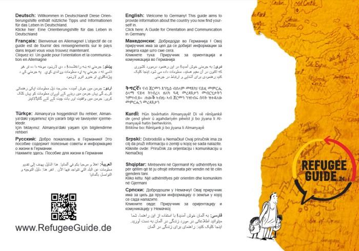 Der Refugee Guide macht einen soliden Eindruck. (screenshot: zoom)