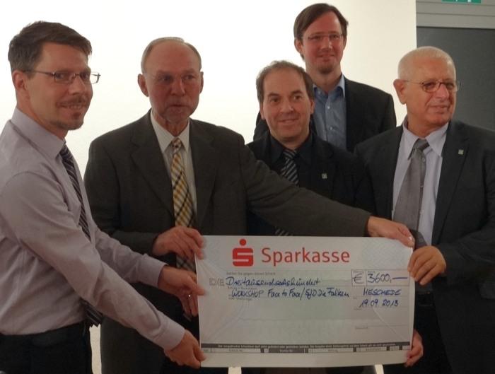 Dagmar-Schmidt Stiftung: Preisverleihung im Jahr 2013 (foto: spd/privat)