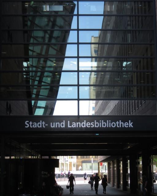 Ich hätte heute gerne mehr Zeit in der Stadt- und Landesbibliothek Dortmund verbracht. (zoom)