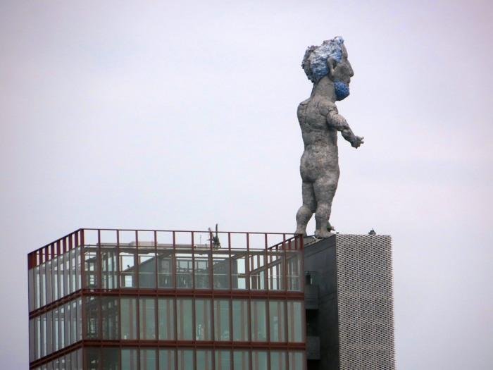 Der Herkules von Gelsenkirchen im Nordsternpark. (foto: zoom)