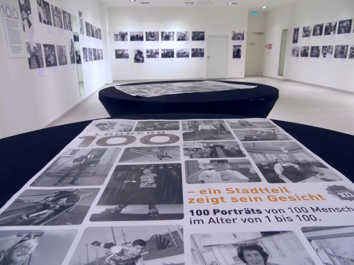 Am vergangenen Samstag in der Neutorgalerie in Dinslaken: Lohberg100 - die Austellung (foto: zoom)