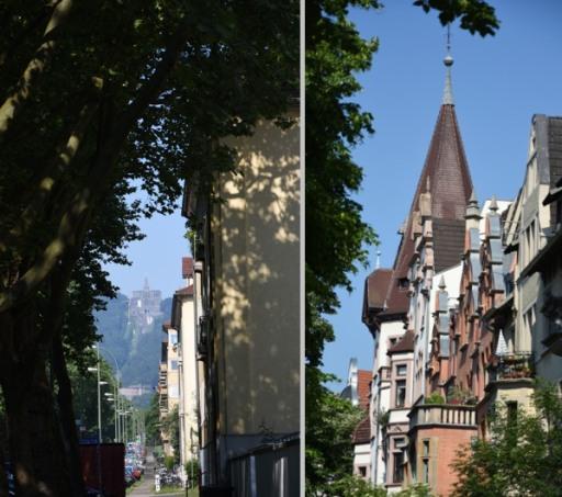Kasseler Ansichten en passant fotografiert. (fotocollage: zoom)
