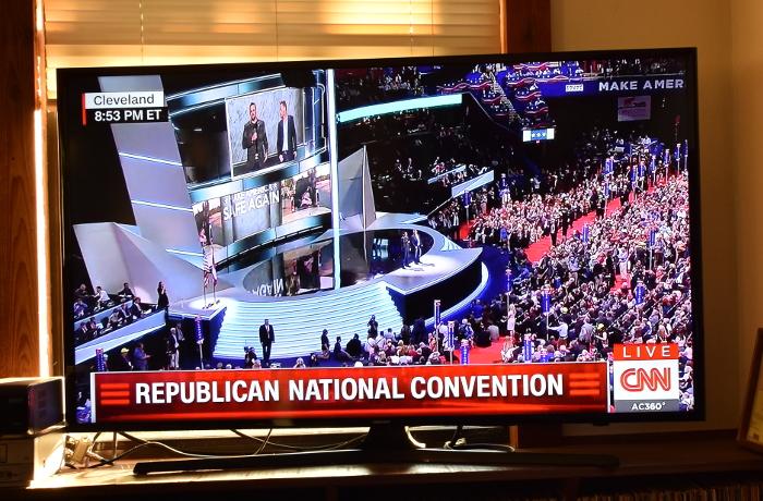 Auch schon wieder eine Woche her: Der RNC mit dem narzisstischen Populisten Donald Trump.