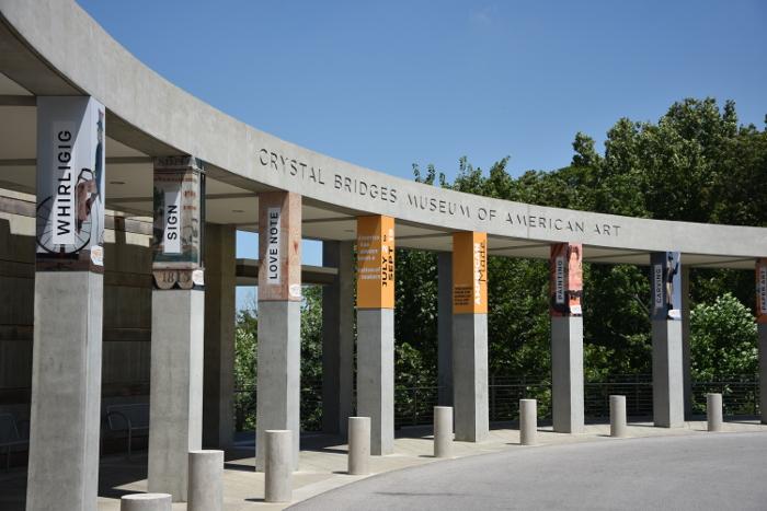 Überraschung: das Crystal Bridges Museum in Bentonville/Arkansas. (foto: zoom)