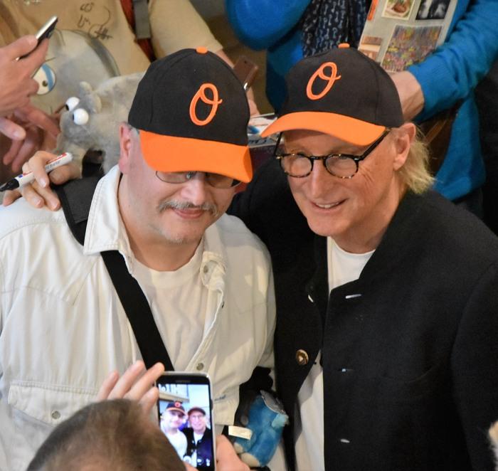 Selfies und mehr. Otto handhabte die Medien-Ansprüche souverän.