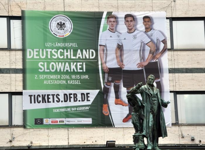 Vorverkauf fürs Slowakei-Spiel läuft.