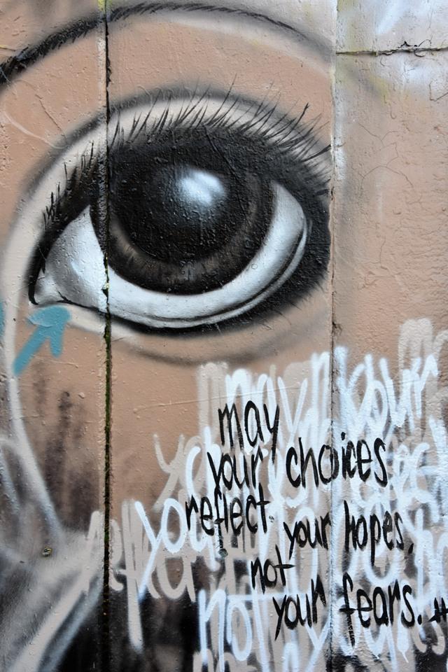 Gute Nacht! Ich denke/träume dieses Graffito nach. (foto: zoom)