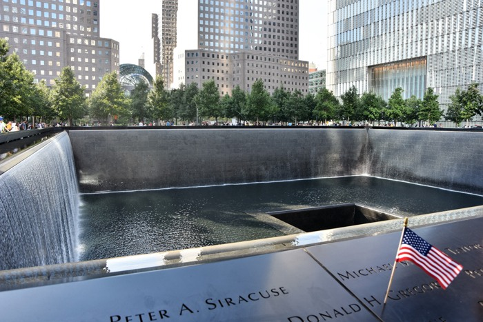 Das 9/11 Memorial in Manhatten./New York. (foto: zoom)