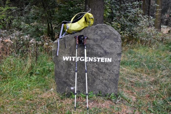 """Ludwigs Stein des Weisen """"Tractatus"""" oder einfach nur """"Sayn""""s? (foto: zoom)"""