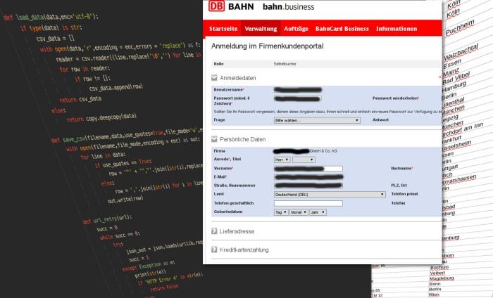 Screenshot aus dem Beispieldatensatz (Simon Wörpel (correctiv.ruhr))