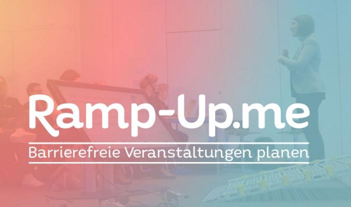 Screenshot der neuen Website ramp-up.me (sozialhelden)