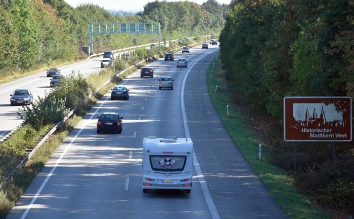 Die A44 im September diesen Jahres. (foto: zoom)