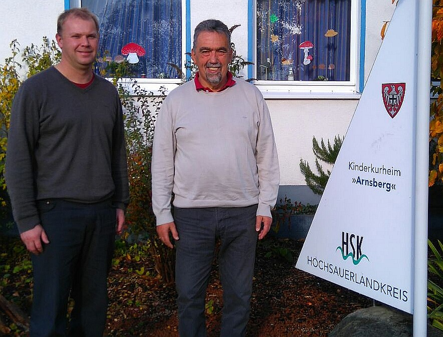 Jörg Burmannn und Hans-Walter Schneider von der Winterberger SPD (foto: spd)