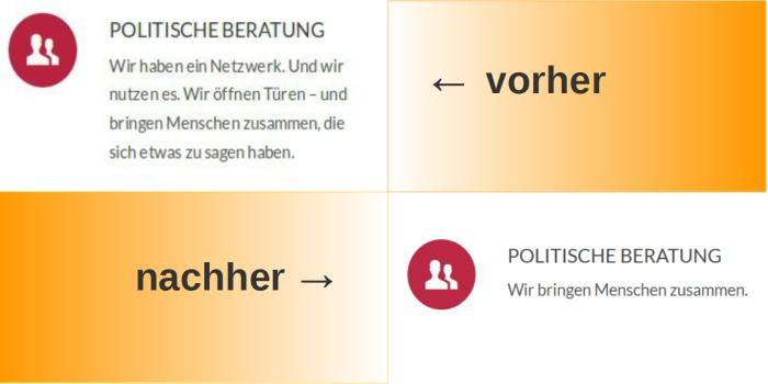 Vorher - nachher. (screenshot: lobbycontrol)