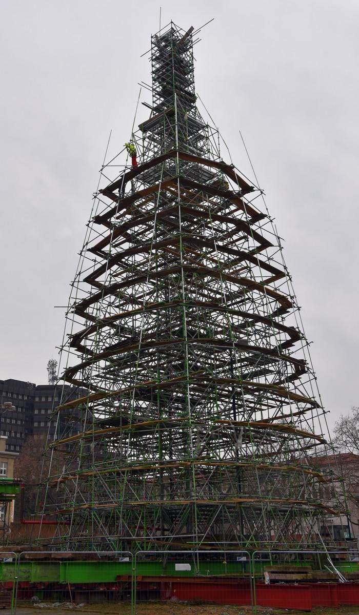 Dortmund Weihnachtsbaum.Der Dortmunder Weihnachtsbaum Heute Fichtenlos Zoom