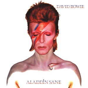 """Aladdin Sane""-Cover 
